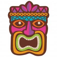 Hawaiian Party Decorations Summer Luau Tiki Cardboard Cutouts