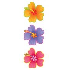Hawaiian Hibiscus Flower Cutout