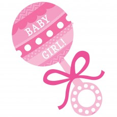 Baby Shower - General Rattle Cutout