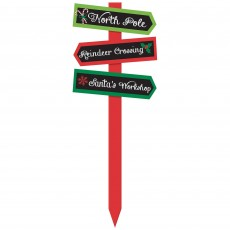 Christmas Arrow Yard Sign