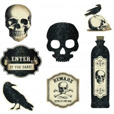 Halloween Boneyard Cutouts