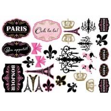 Day in Paris Mega Value Pack Cutouts