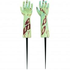 Halloween Zombie Hand Stake Yard Sign