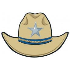 Cowboy & Western Cutout 20cm