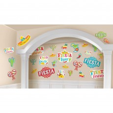 Mexican Fiesta Value Pack Cutouts Pack of 30