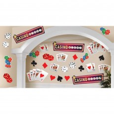 Casino Night Roll The Dice Mega Cutouts