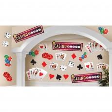 Casino Party Decorations Roll The Dice Mega Cutouts