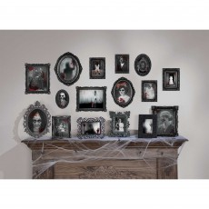 Halloween Dark Manor Framed Pictures Cutouts
