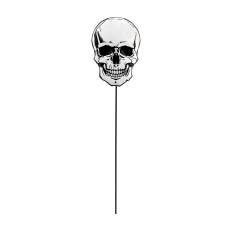 Halloween Party Supplies - Yard Signs - Small Skull