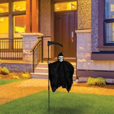 Halloween Grim Reaper Illusion Yard Sign