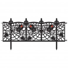 Halloween Party Decorations - Spider Fence