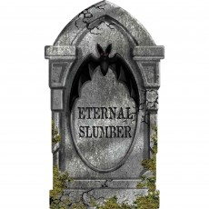 Halloween Eternal Slumber Tombstone Misc Decoration