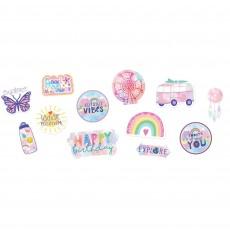 Girl-Chella Party Decorations - Cutouts
