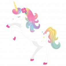 Magical Unicorn Party Decorations - Cutout Enchanted Unicorn