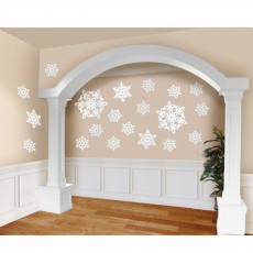 Christmas Party Decorations - Cutouts Assorted Snowflakes