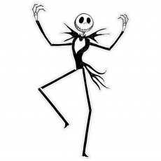 Halloween Nightmare Before Christmas Cutout