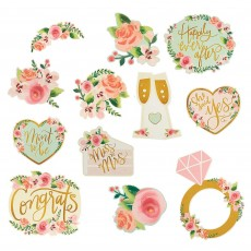 Bridal Shower Mint To Be Cutouts Pack of 12