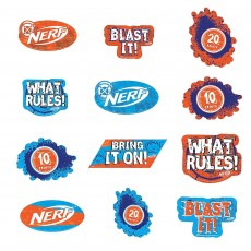 Nerf Cutouts Pack of 12
