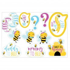 What Will It Bee? Cutouts 17cm to 28cm Pack of 12