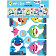 Baby Shark Party Decorations - Cutouts