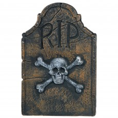 Halloween Skull & Crossbones Tombstone Misc Decoration