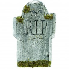 Halloween Mossy Bat Tombstone Misc Decoration