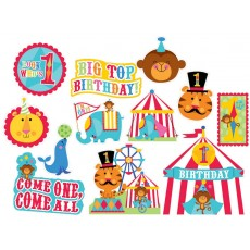 Fisher Price 1st Birthday Circus Value Pack Cutouts Pack of 12