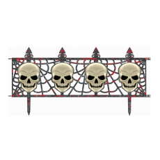 Halloween Skull Fence Misc Decorations