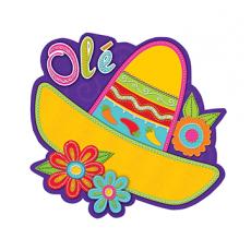 Fiesta Sombrero Cutout