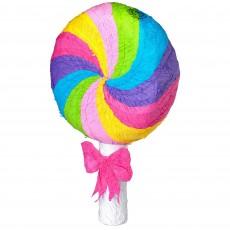 Sweets & Treats Lollipop Pinata 46.36cm x 7.62cm x 54.61cm