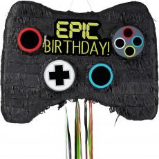 Game Controller Epic Birthday! Pinata 55.25cm x 45.72cm x 7.62cm