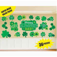 St Patrick's day Mega Value Cutouts