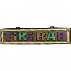 Hawaiian Party Decorations Summer Luau Tiki Bar Formed Sign Banners