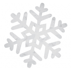 Christmas Medium Snowflake Foil Cutout
