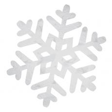 Christmas Party Decorations - Cutout Medium Snowflake Foil