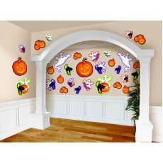 Halloween Party Supplies - Cutouts - Cute Characters