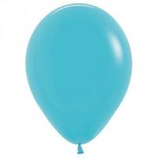 Blue Fashion Caribbean  Latex Balloons