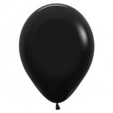 Black Fashion  Latex Balloons