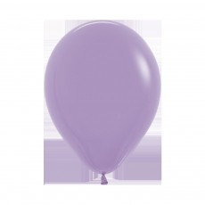 Lilac Party Decorations - Latex Balloons Fashion Lilac 45cm
