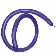 Fashion Purple Violet 160T Modelling Latex Balloons 2.5cm x 150cm Pack of 50