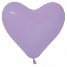 Lilac Party Decorations - Latex Balloons Fashion Lilac 15cm
