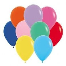 Teardrop Fashion Multi Coloured Latex Balloons 12cm Pack of 50