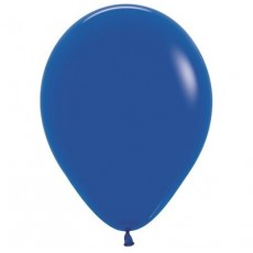 Blue Fashion Royal  Latex Balloons
