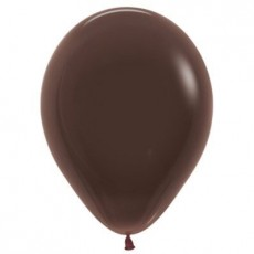 Brown Fashion Chocolate  Latex Balloons