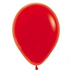 Red Crystal  Latex Balloons