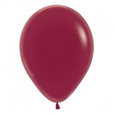 Burgundy Crystal Jewel Latex Balloons