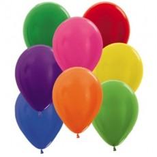 Multi Colour Metallic ed  Latex Balloons