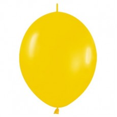 Yellow Fashion Goldenrod  Link O Loon Latex Balloons