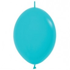 Blue Fashion Caribbean  Link O Loon Latex Balloons