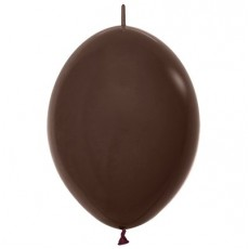 Brown Fashion Chocolate  Link O Loon Latex Balloons